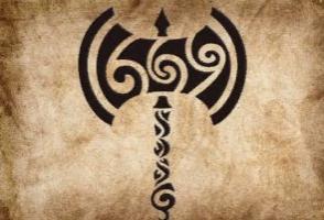 Символы  древних скандинавов L0Fgat