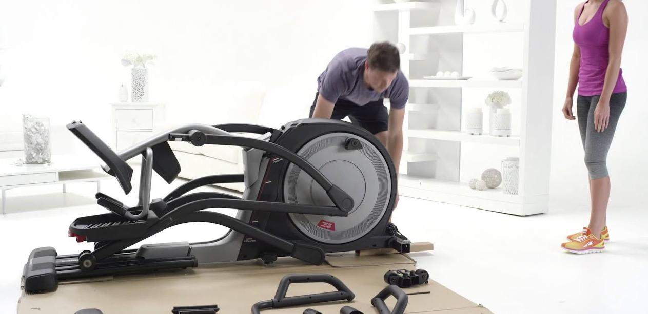 folding elliptical machine
