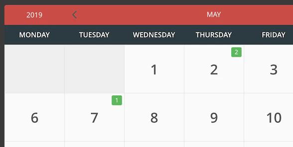 плагин календаря событий