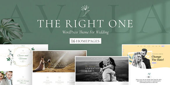 wordpress тема с осенним дизайном