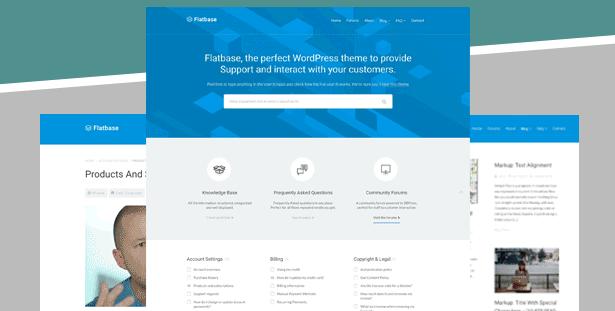 Flatbase - гармоничная WordPress тема для базы знаний