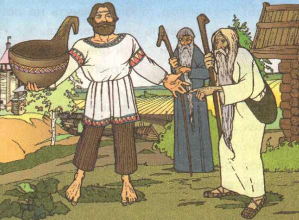 Былина об исцелении Ильи Муромца