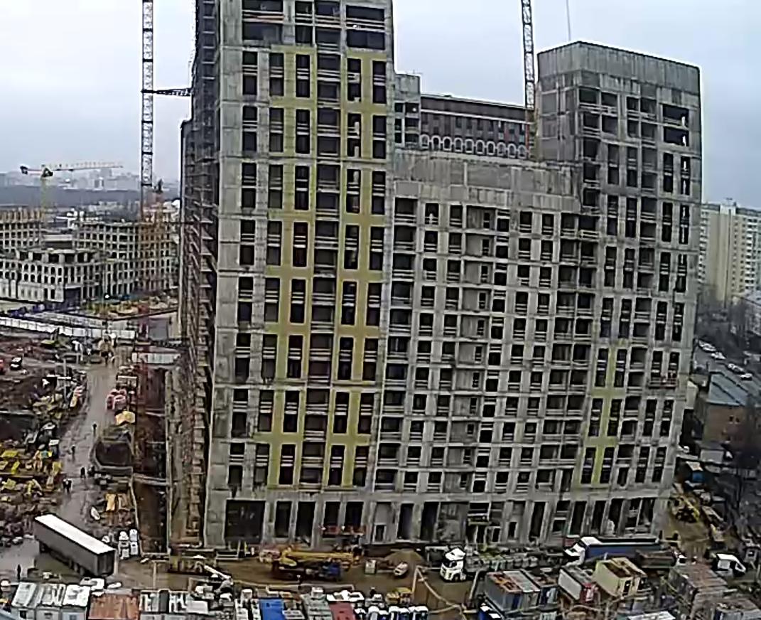 Веб-камеры на площадке строительства ЖК «Серебряный фонтан»  - Страница 19 JQUXLQDv