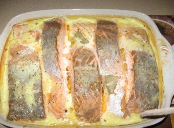 Запекаем рыбу