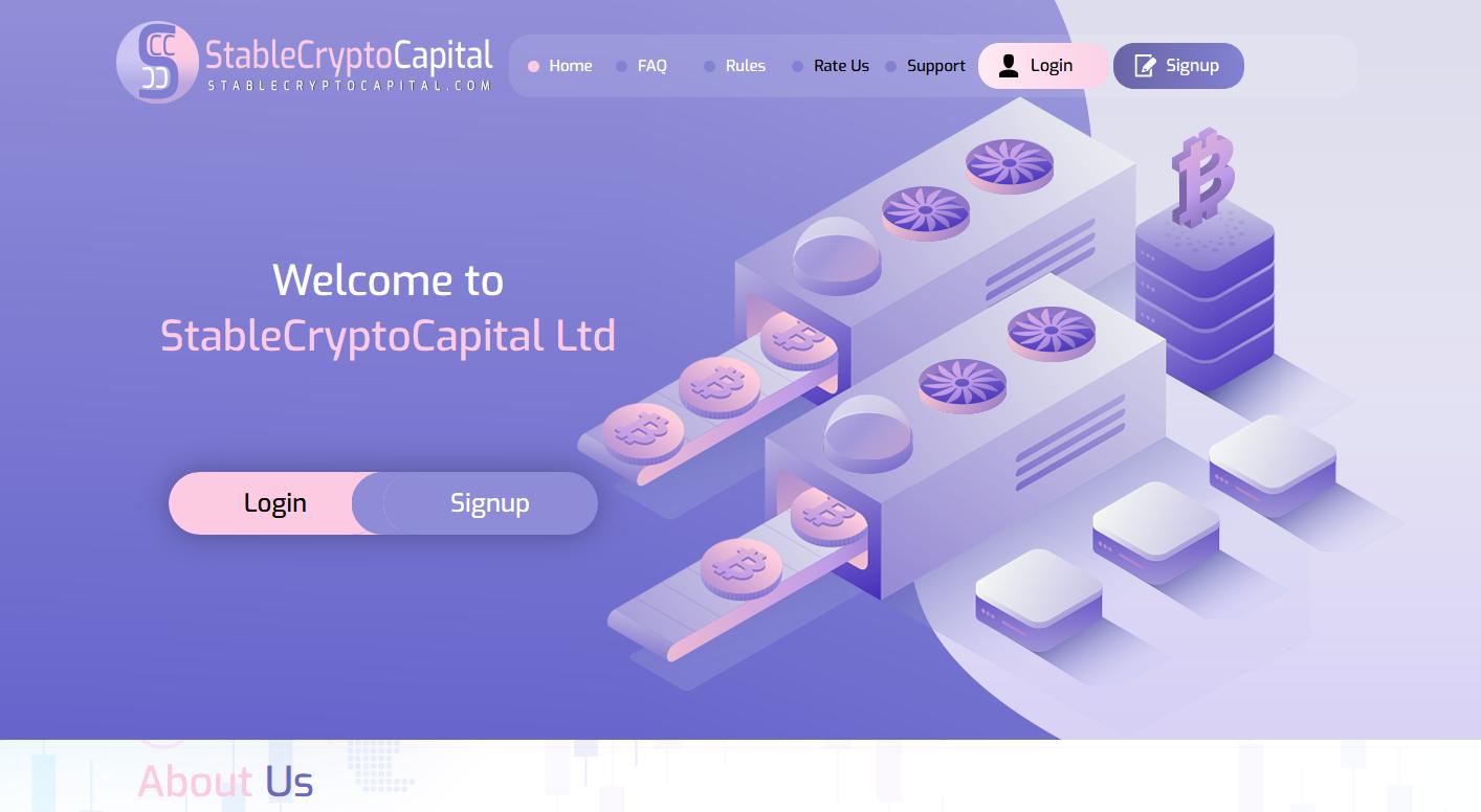 StableCryptoCapital Ltd - stablecryptocapital.com