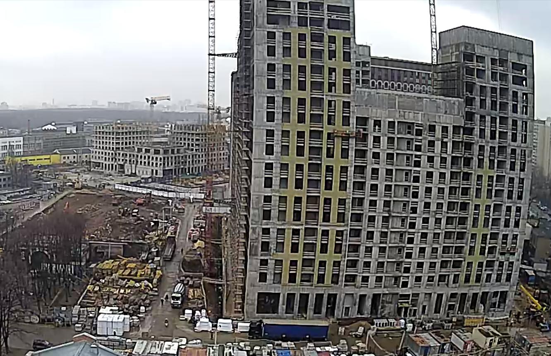Веб-камеры на площадке строительства ЖК «Серебряный фонтан»  - Страница 20 JlZoMkur