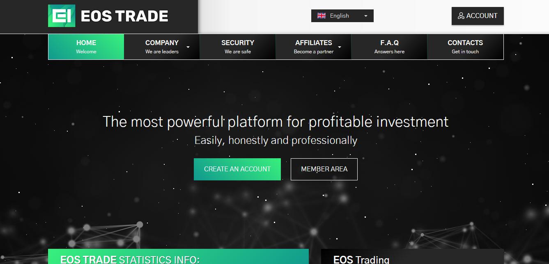 EOS Trade - eostrade.market