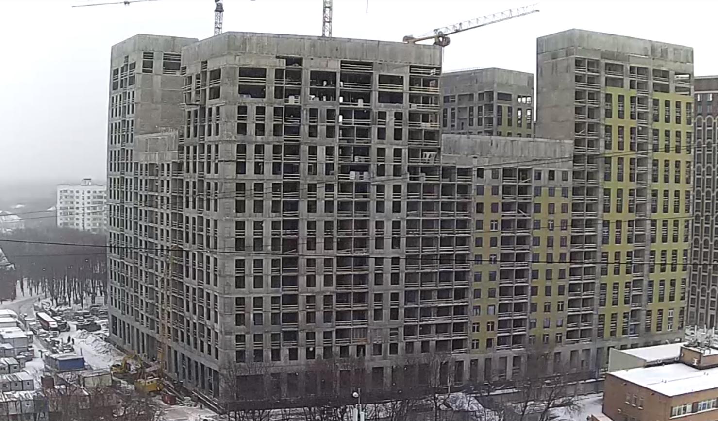 Веб-камеры на площадке строительства ЖК «Серебряный фонтан»  - Страница 19 6bOxEH3l