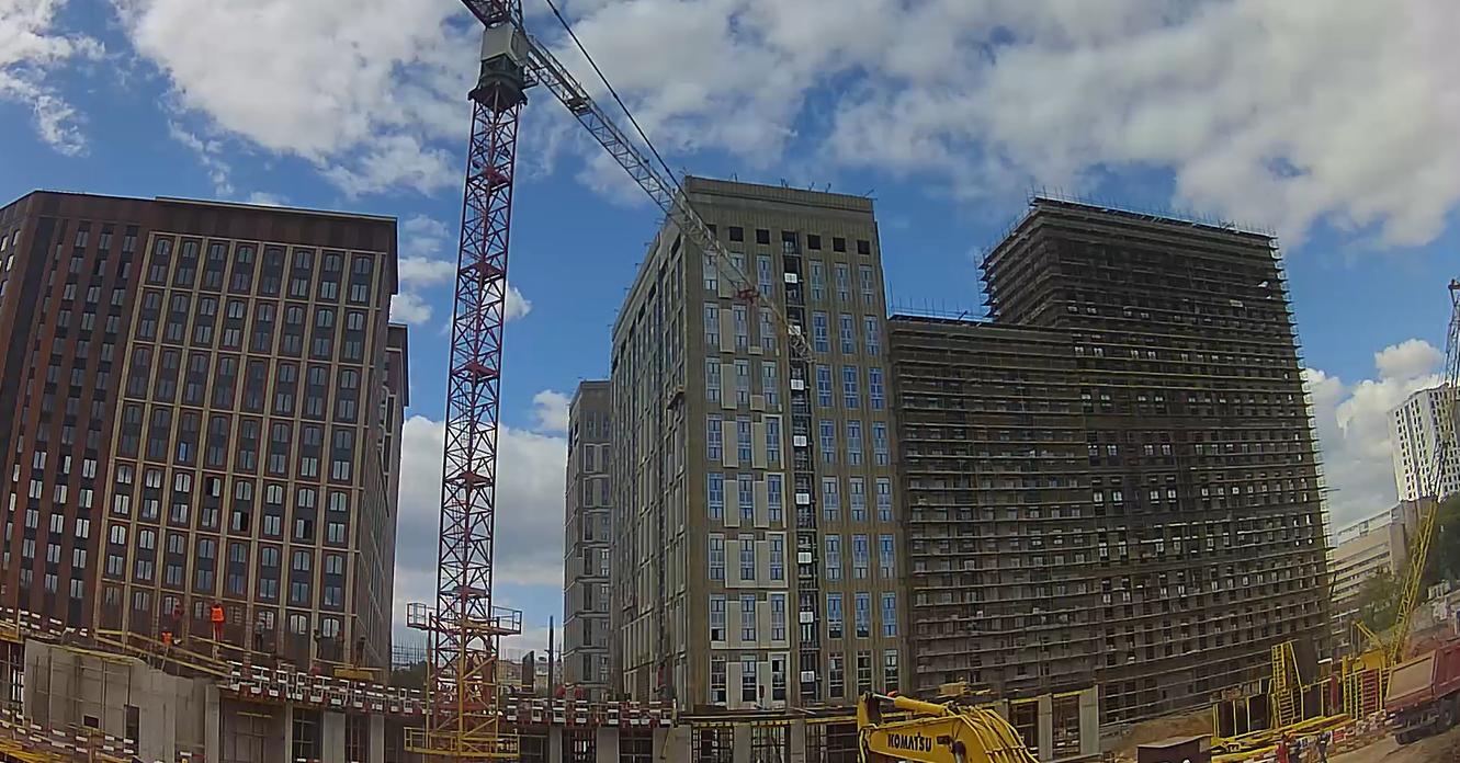 Веб-камеры на площадке строительства ЖК «Серебряный фонтан»  - Страница 24 ELp9W8PY