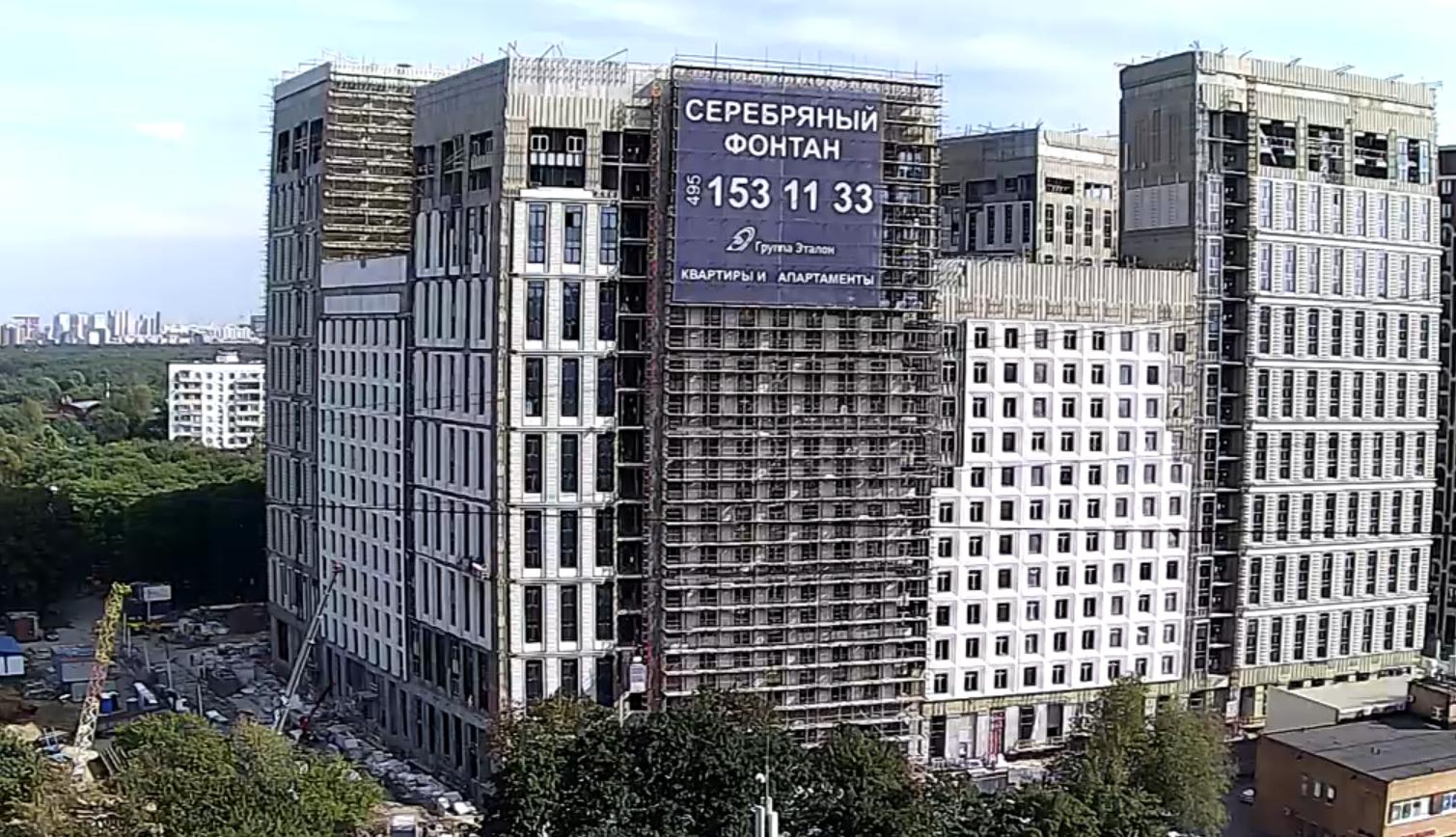 Веб-камеры на площадке строительства ЖК «Серебряный фонтан»  - Страница 25 JkFaqmki
