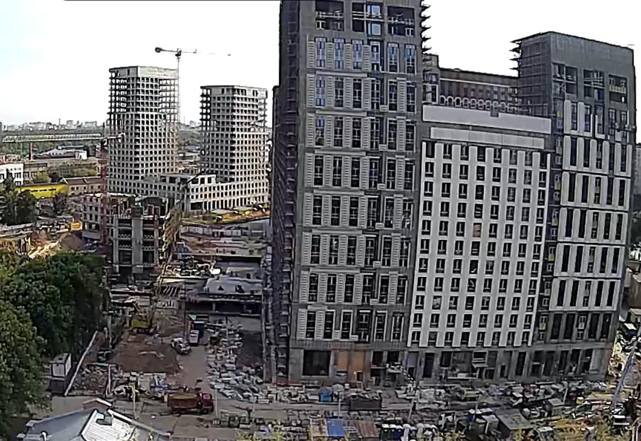 Веб-камеры на площадке строительства ЖК «Серебряный фонтан»  - Страница 25 VpZvehpt