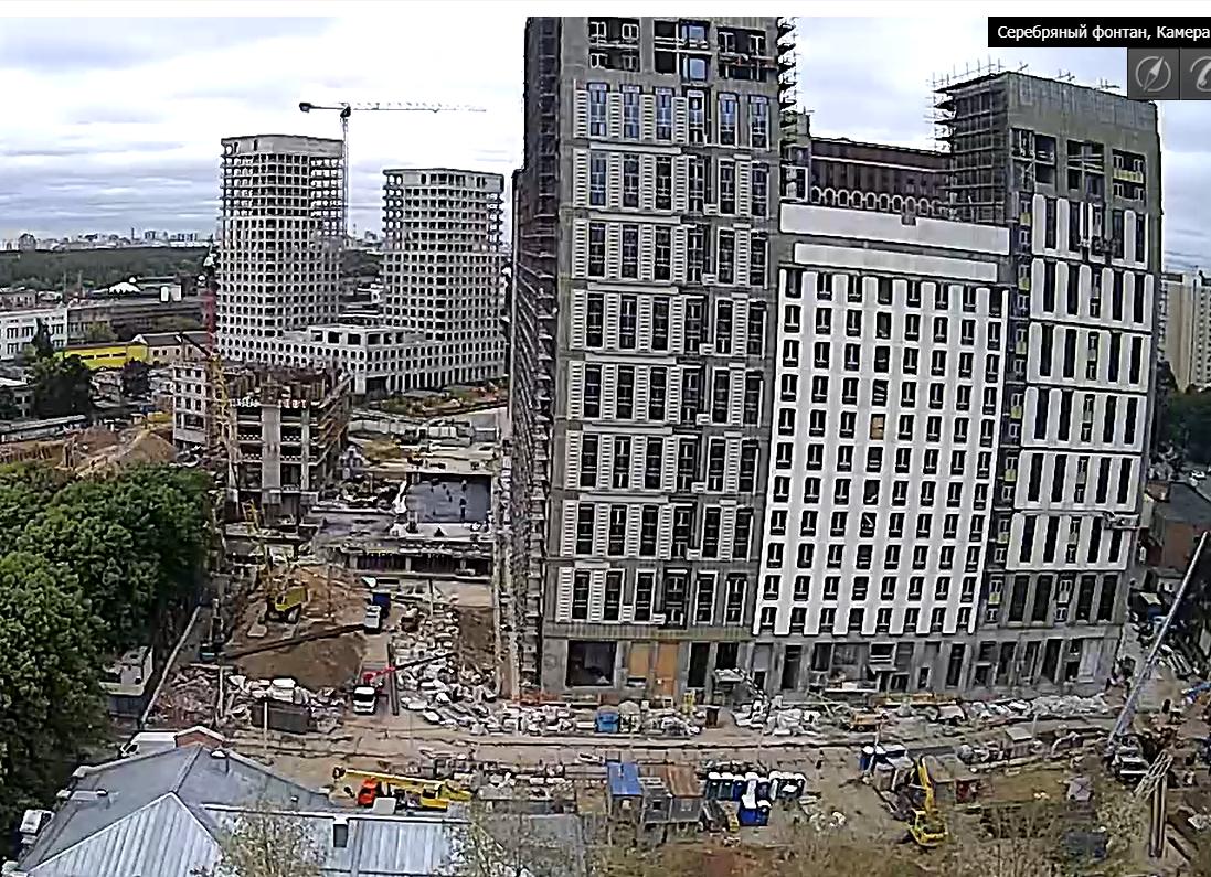 Веб-камеры на площадке строительства ЖК «Серебряный фонтан»  - Страница 26 UZzuSCjM