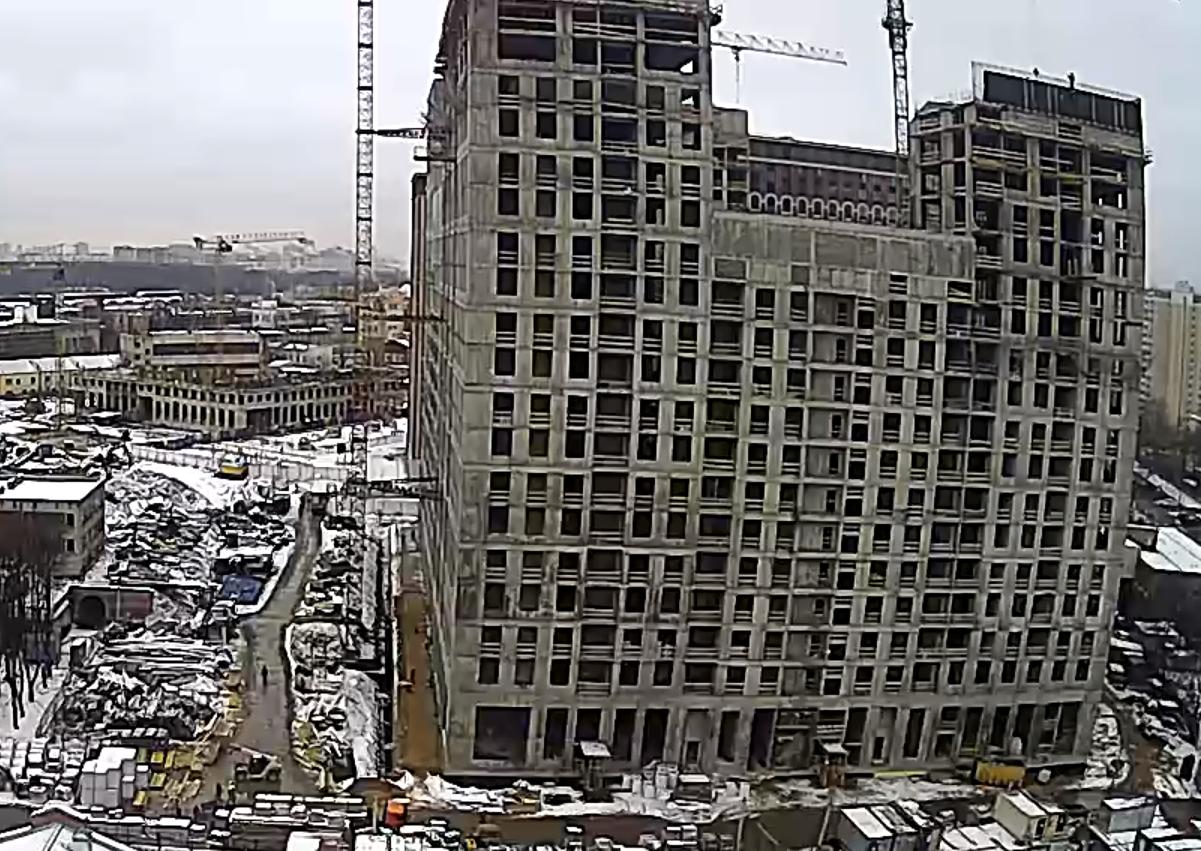 Веб-камеры на площадке строительства ЖК «Серебряный фонтан»  - Страница 18 CzzZK6wW