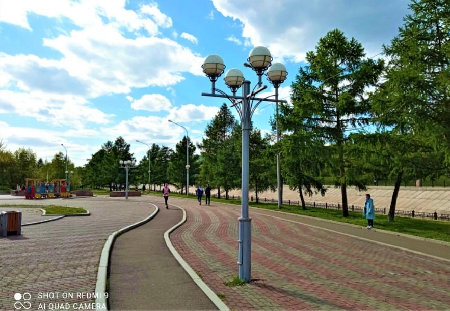 Таёжный город или прогулка по центру Красноярска