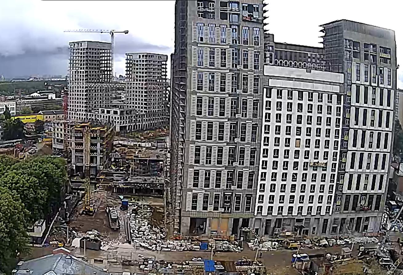 Веб-камеры на площадке строительства ЖК «Серебряный фонтан»  - Страница 26 Lko30toq