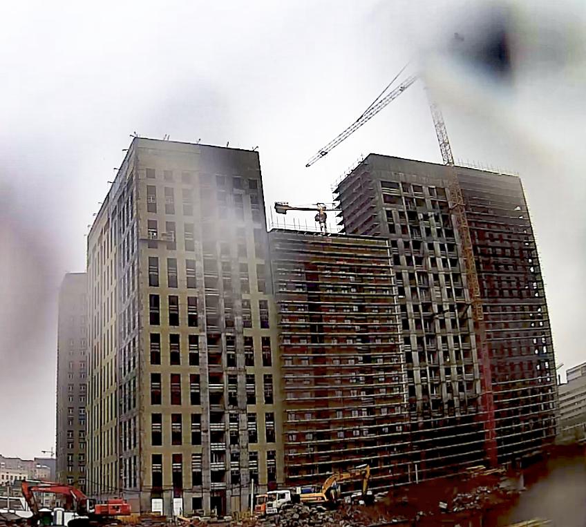 Веб-камеры на площадке строительства ЖК «Серебряный фонтан»  - Страница 20 VtgLLuzR