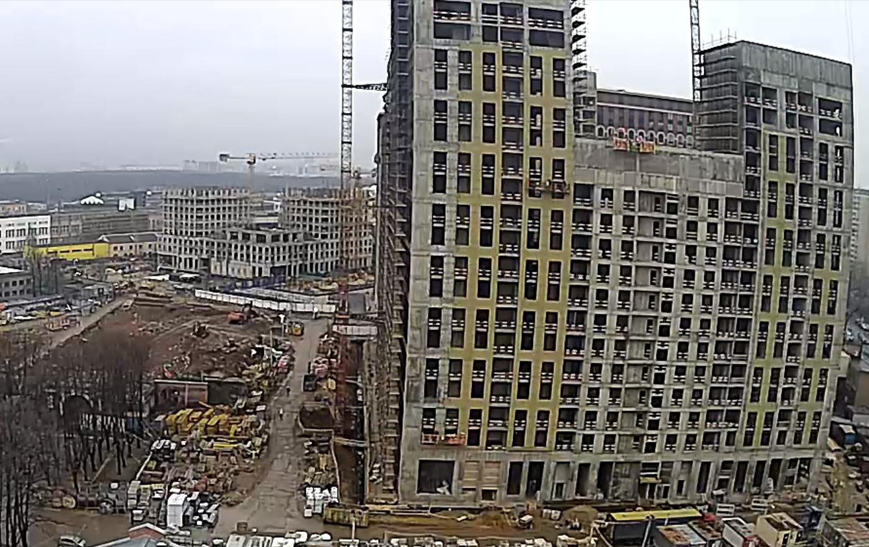 Веб-камеры на площадке строительства ЖК «Серебряный фонтан»  - Страница 20 OqrpbQDx