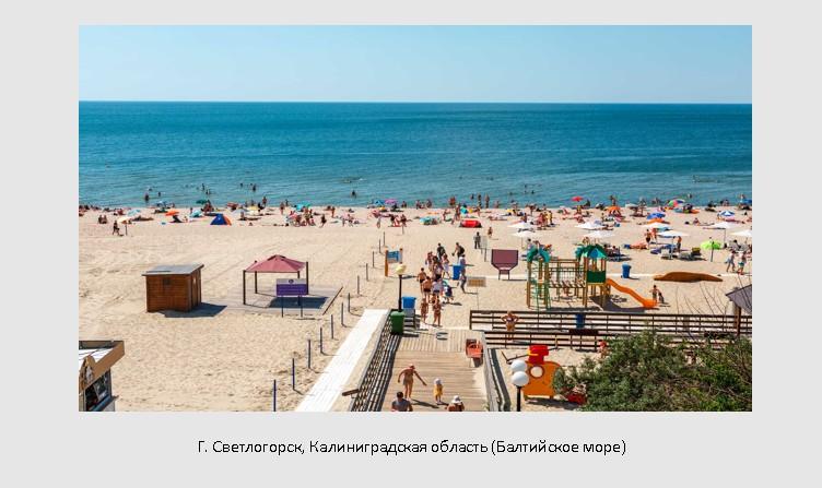 Места отдыха на море в России