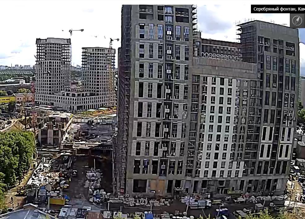 Веб-камеры на площадке строительства ЖК «Серебряный фонтан»  - Страница 24 V71rrfJF