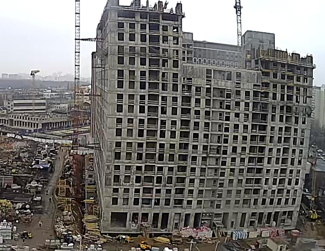 Веб-камеры на площадке строительства ЖК «Серебряный фонтан»  - Страница 17 2sBMm4uM
