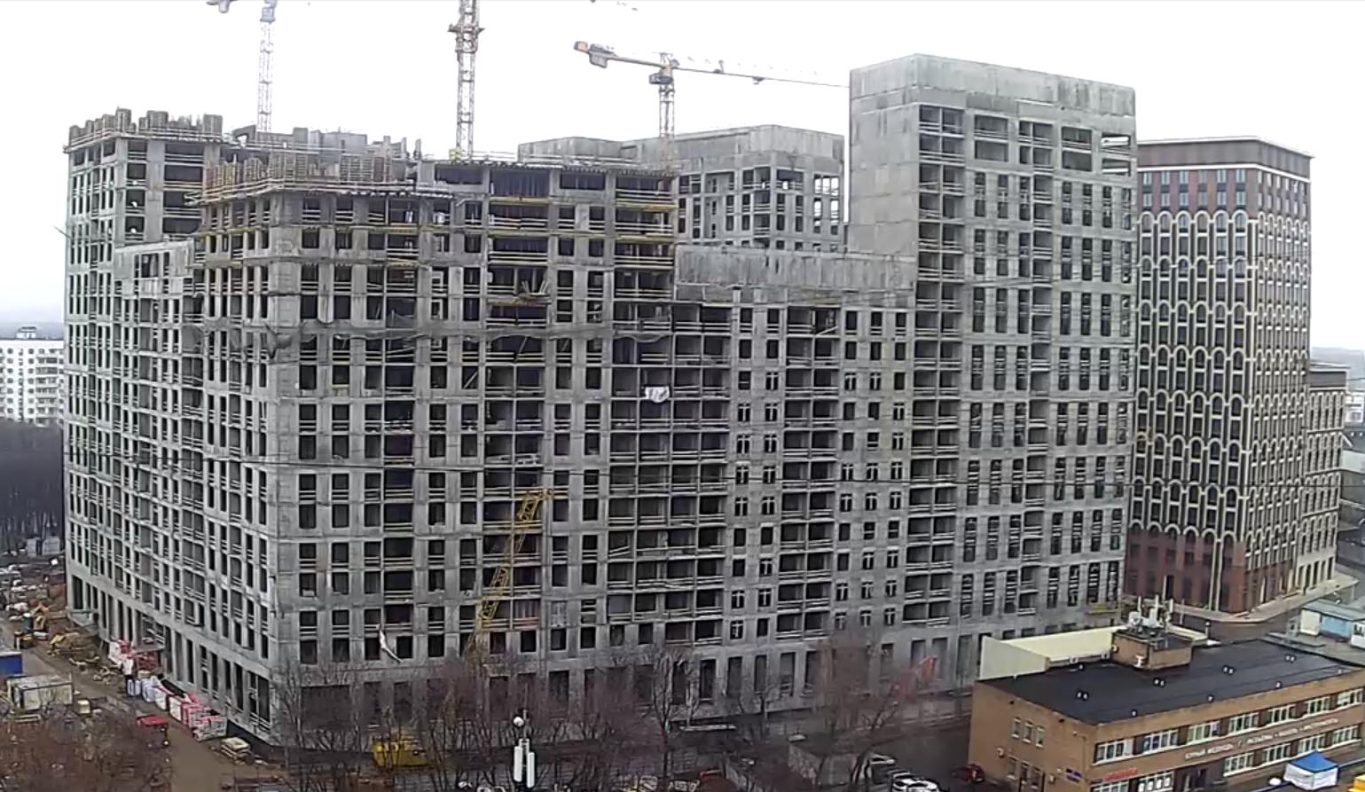Веб-камеры на площадке строительства ЖК «Серебряный фонтан»  - Страница 17 Y9CscARB