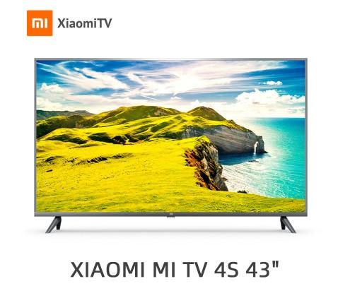 """43"""" (108 см) Телевизор LED Xiaomi Mi TV 4S 43 серебристый"""