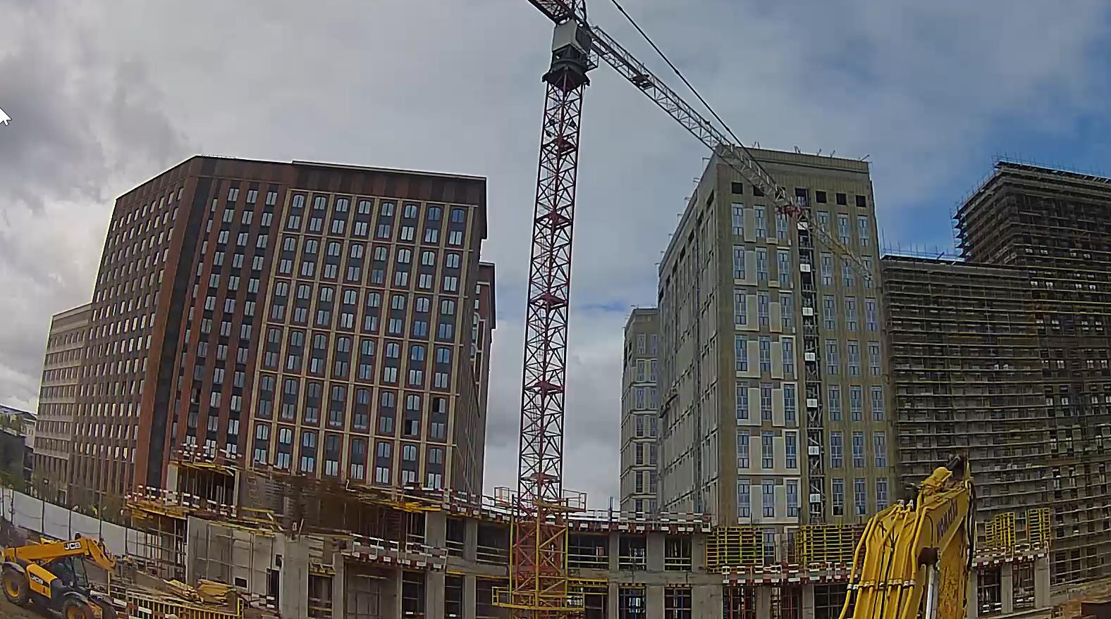 Веб-камеры на площадке строительства ЖК «Серебряный фонтан»  - Страница 24 Byjo0gBd