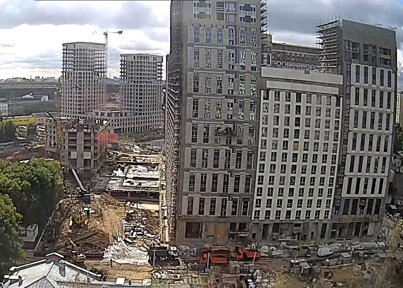 Веб-камеры на площадке строительства ЖК «Серебряный фонтан»  - Страница 26 0FFrQpCM