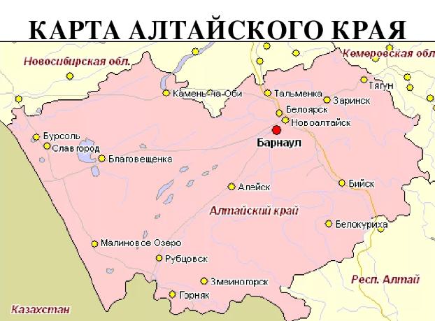 Алтайский край, достопримечательности.
