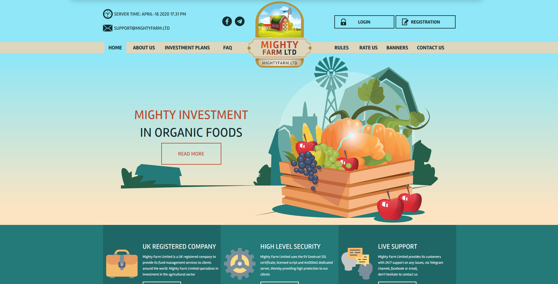 MightyFarm - mightyfarm.ltd