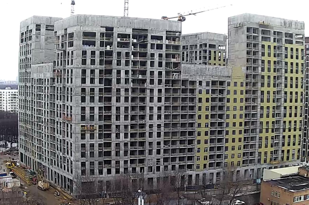 Веб-камеры на площадке строительства ЖК «Серебряный фонтан»  - Страница 19 OWMtj8ly