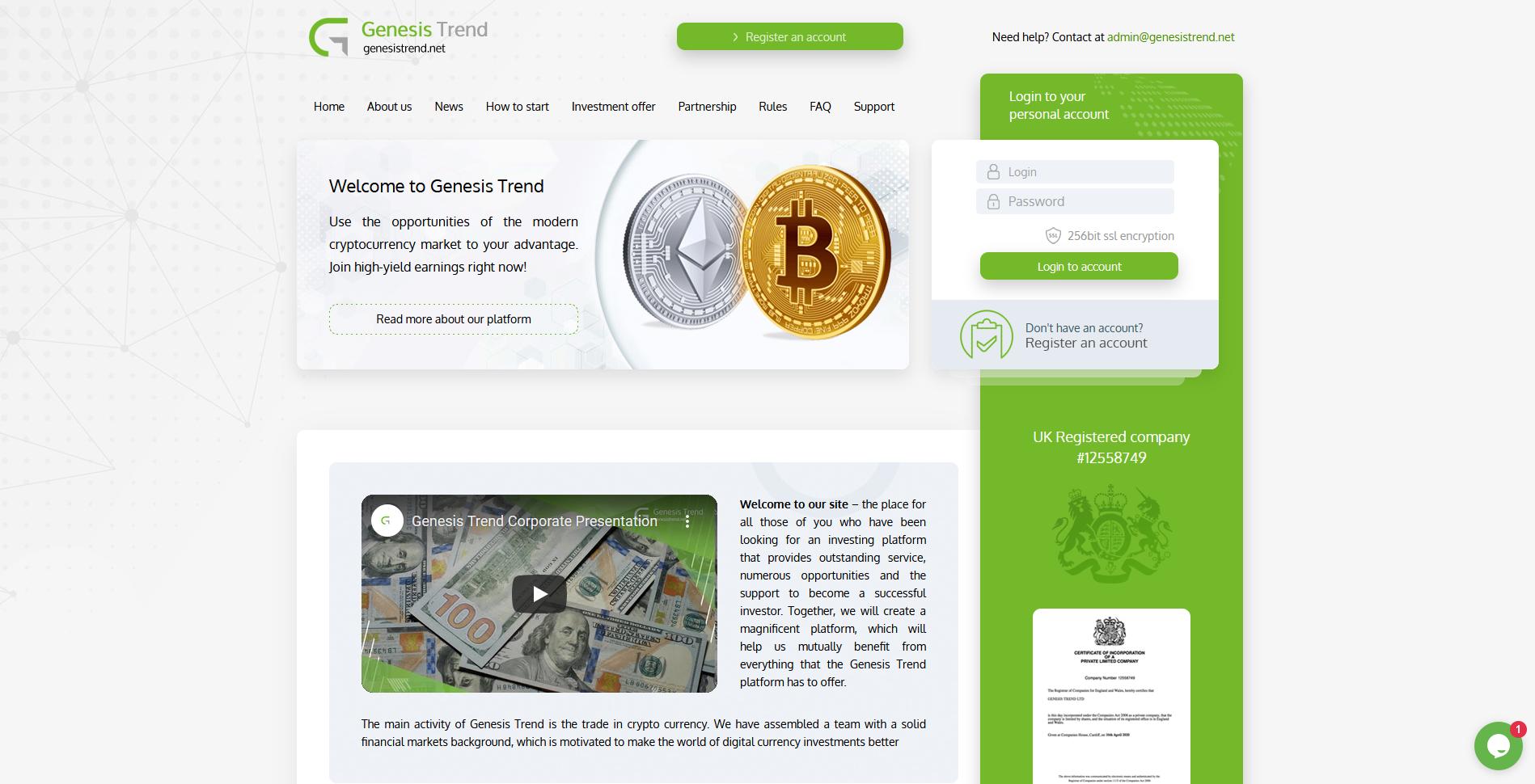 genesis trend - genesistrend.net