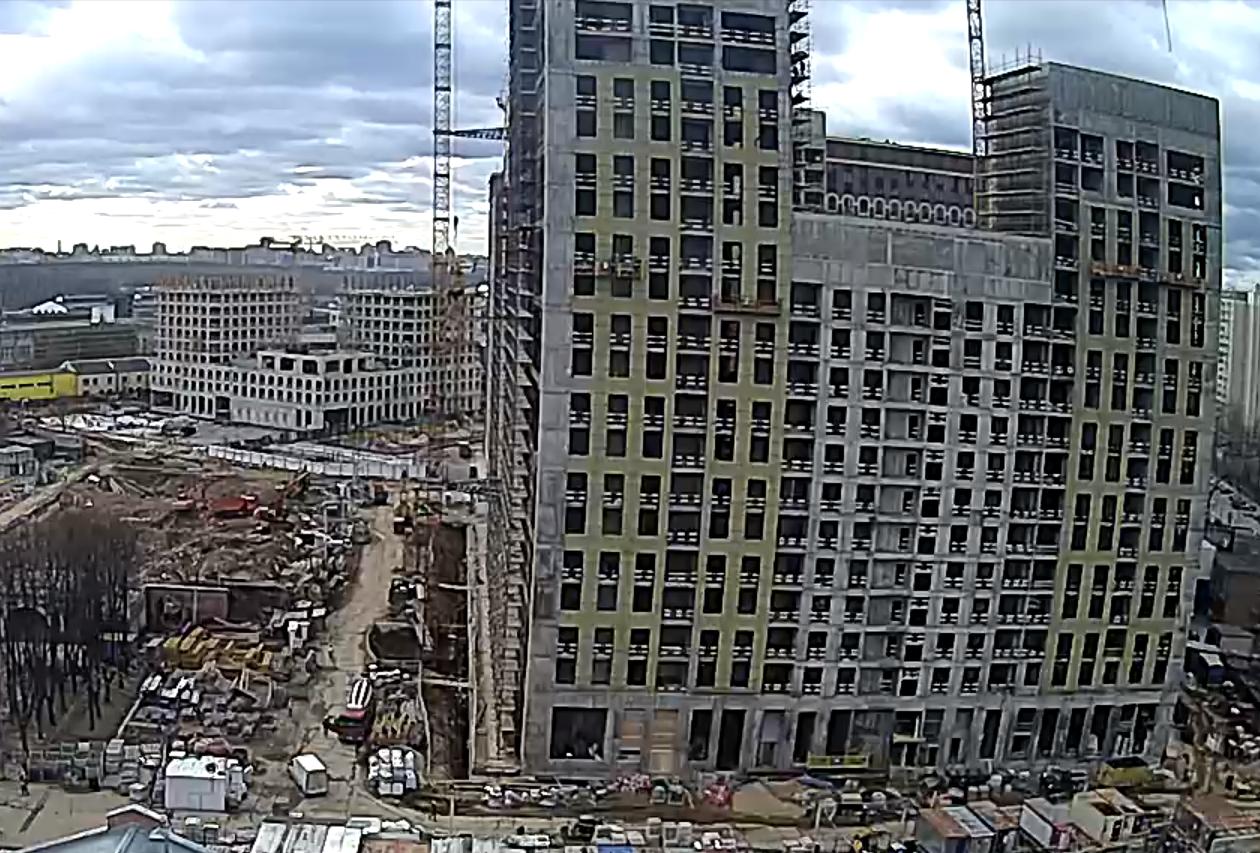 Веб-камеры на площадке строительства ЖК «Серебряный фонтан»  - Страница 20 WFPBNkJT