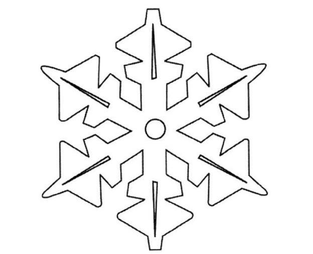 Вытынанки новый год снежинки