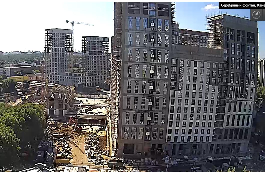 Веб-камеры на площадке строительства ЖК «Серебряный фонтан»  - Страница 25 22DHpu4b