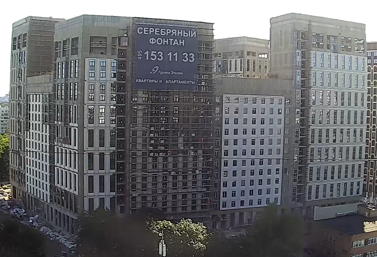 Веб-камеры на площадке строительства ЖК «Серебряный фонтан»  - Страница 25 AssBEGSr