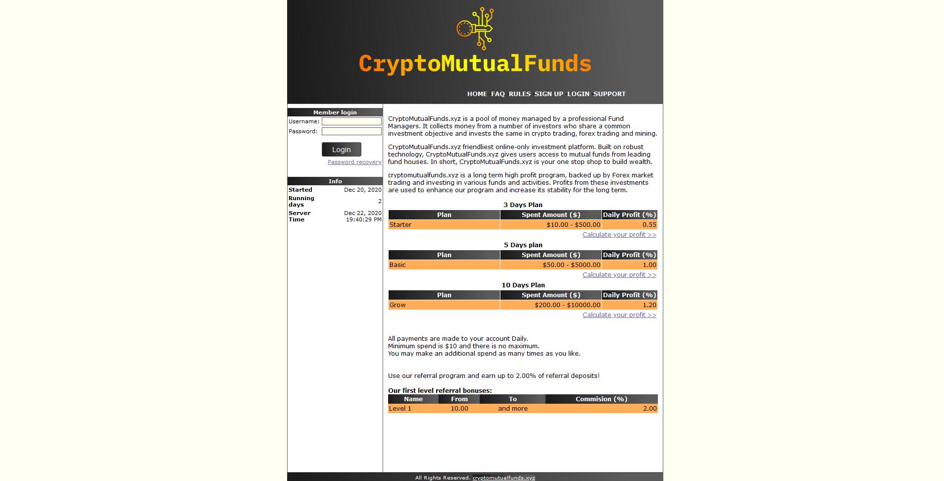 CryptoMutualFunds