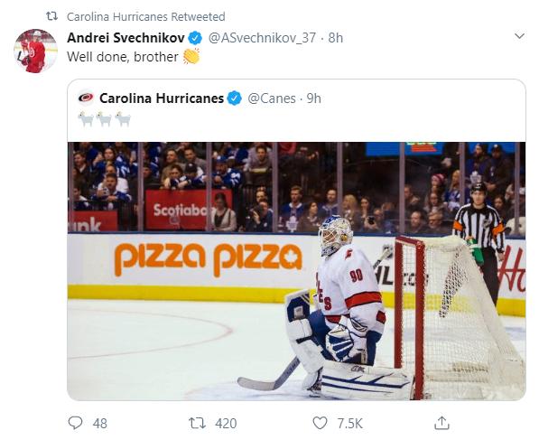 Заливщик льда поменял вратаря вматче НХЛ. И одержал победу!