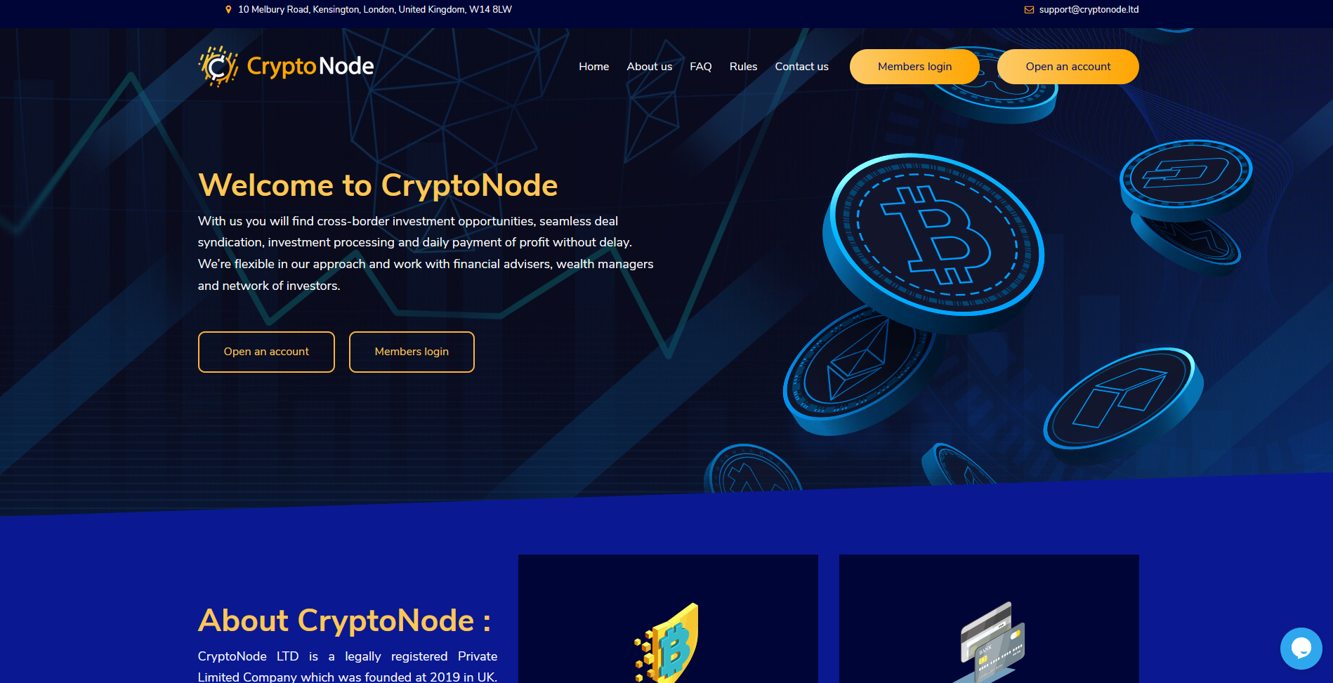 CryptoNode - cryptonode.ltd