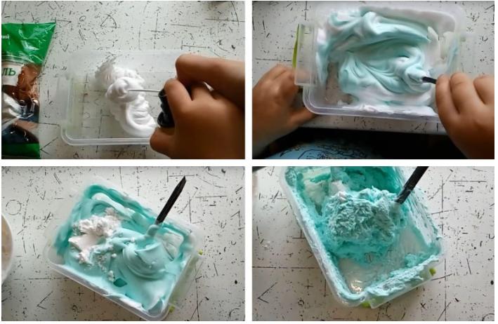 Как сделать легкий пластилин дома. Как из обычного пластилина сделать легкий пластилин. Поделки из легкого пластилина.