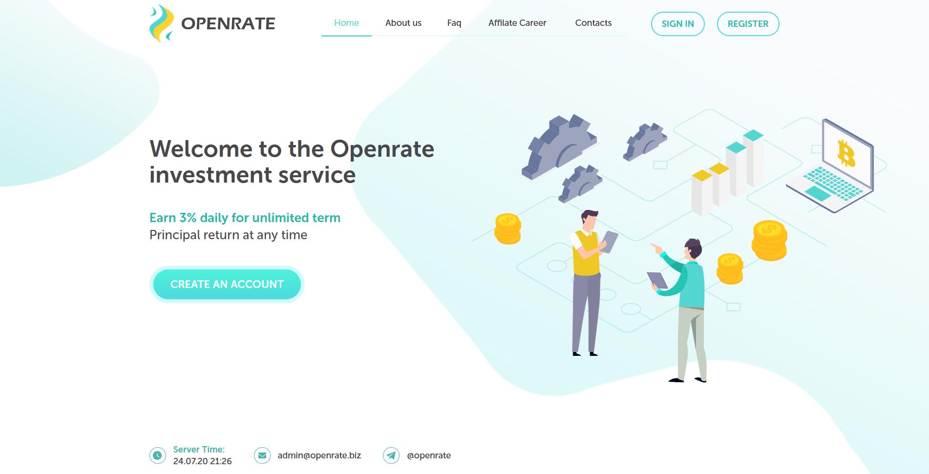 openrate - openrate.biz