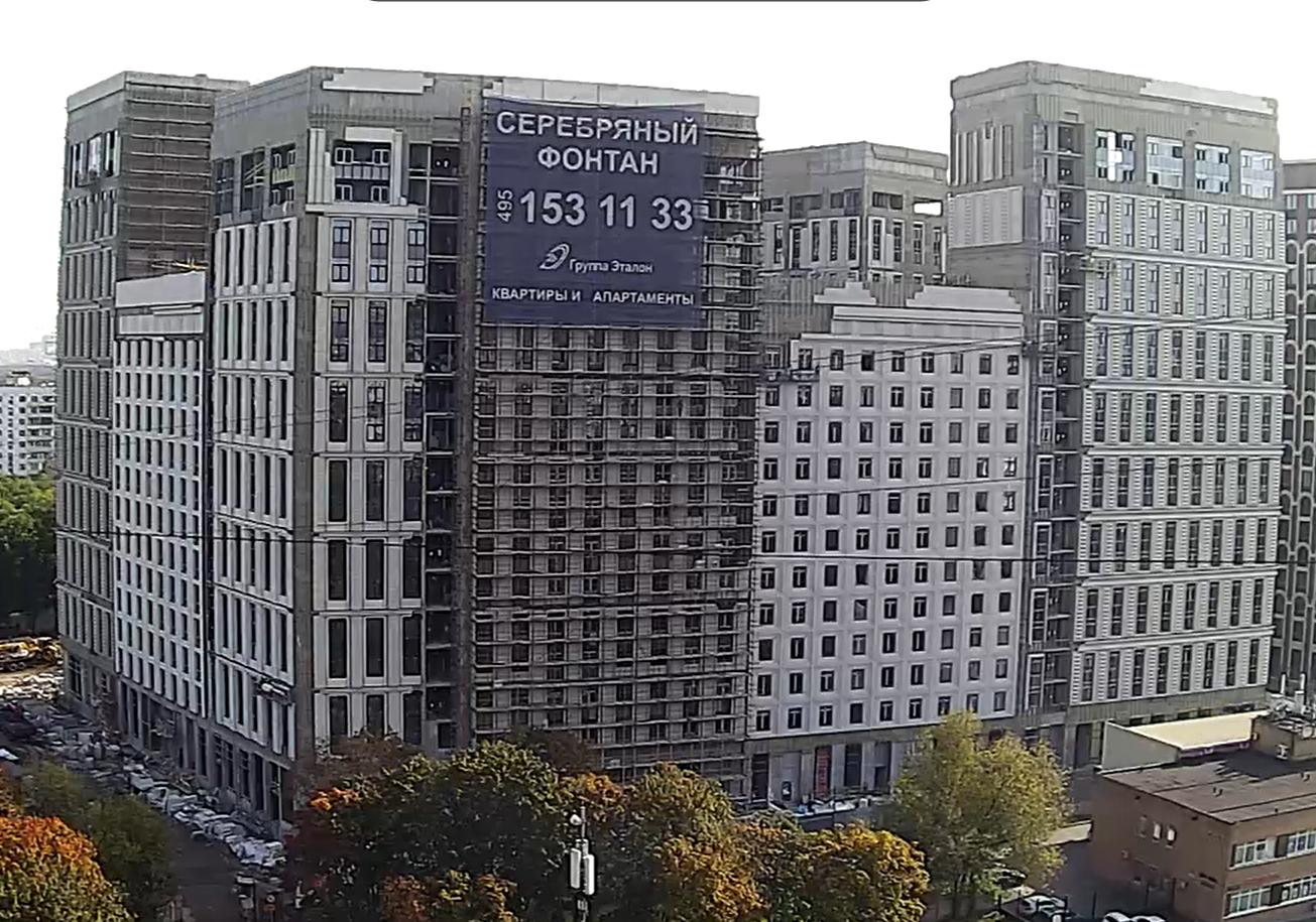 Веб-камеры на площадке строительства ЖК «Серебряный фонтан»  - Страница 27 Tucz0g1v