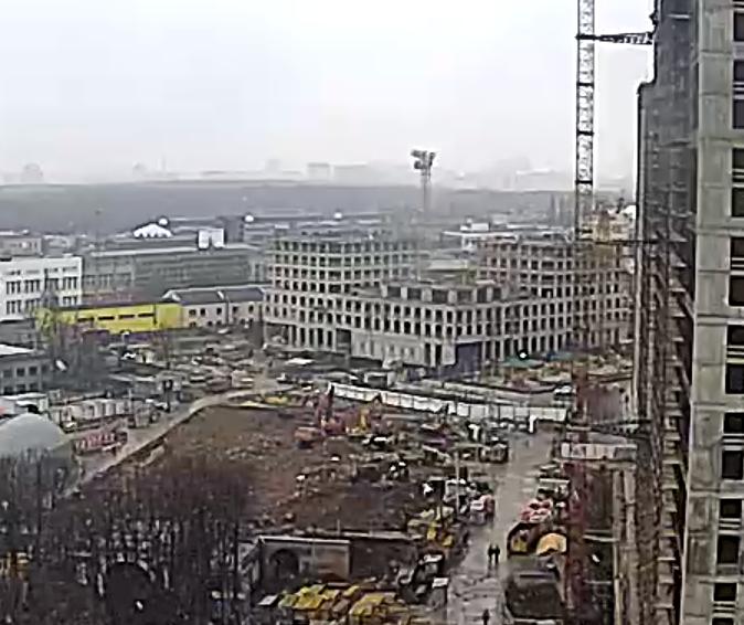 """Ход строительства 3 корпуса ЖК """"Серебряный фонтан"""" GfEXYnHM"""