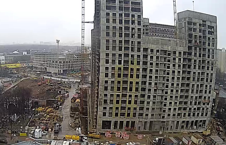 Веб-камеры на площадке строительства ЖК «Серебряный фонтан»  - Страница 19 KTOJou5w