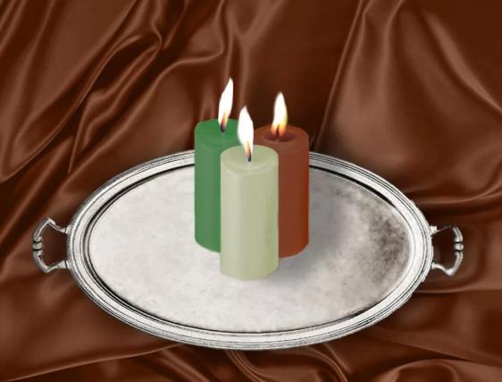 Заговор на деньги на 3 свечи