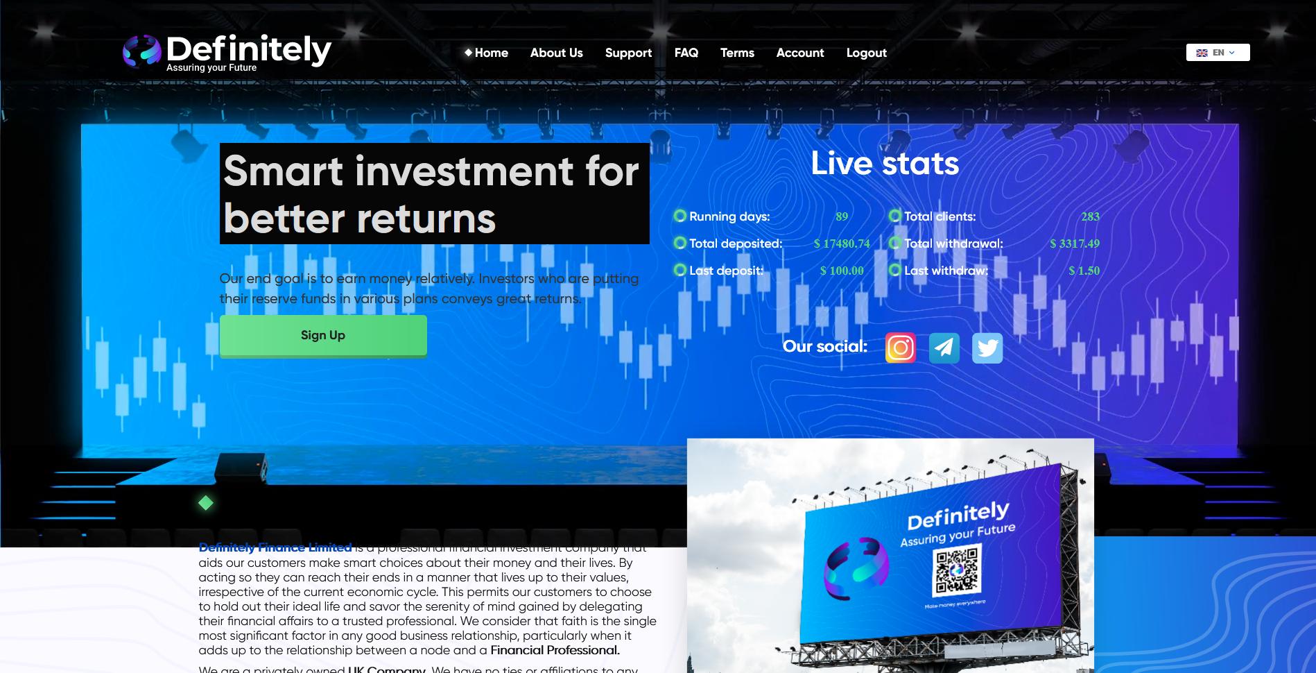 DEFINITELYFINANCE - definitelyfinance.com