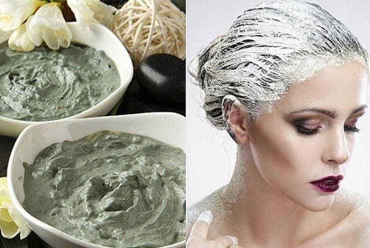 Как укрепить волосы при помощи глины