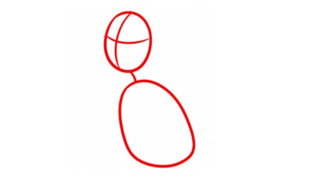 Как нарисовать собаку Макса