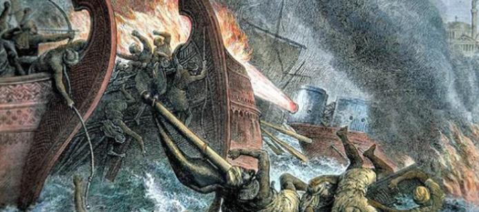 сожжение кораблей исламистов