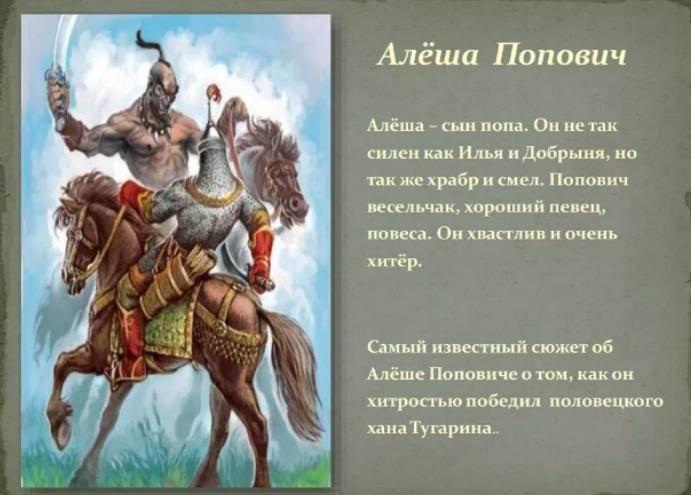 Алеша Попович И Илья Муромец